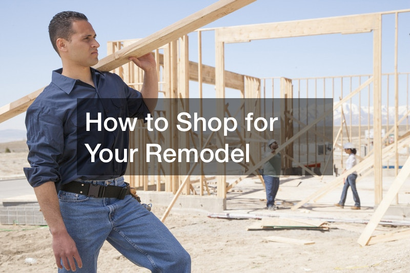 How to Shop for Your Remodel